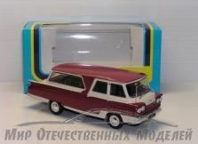 """Сувенирная модель микроавтобус """"Старт"""" 1964-67гг (беж-бордовый) 1:43"""