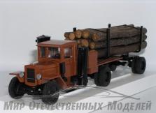 Урал-ЗИС-352Л Лесовоз газогенераторный