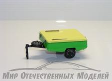 "Прицеп ""Скиф-М"" (металл, жёлто-зеленый)  1:4"