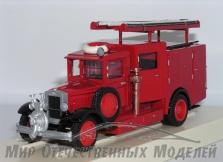 ПМЗ-8 Пожарная автоцистерна с передним насосом с ДПО