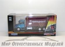 """маш """"TRANSPORT TRUCK"""" контейнеровоз 1:48"""