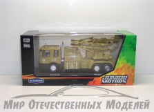 """маш """"MILITARY Transporter"""" с зенитной установкой 1:48"""