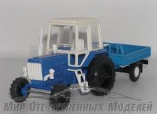 МТЗ-82 с прицепом