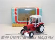 Трактор МТЗ-82 (пластик, красный)  1:43