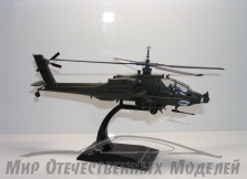 игрушка Верлотел АН-64 Apache США, блистер 1:72