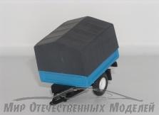 """Прицеп бортовой с тентом (кузов от """"Бизон"""")"""