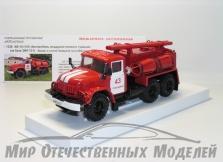 Сувенирная модель АВ-10 Автомобиль воздушно-пенного тушения (на базе ЗИЛ-131) ПЧ №43 Геленджик  1:43